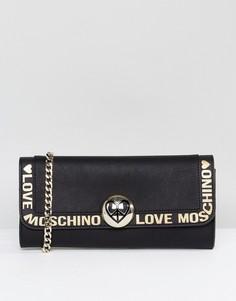 Сумка на плечо Love Moschino - Черный
