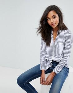 Рубашка в полоску Tommy Jeans - Синий