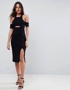 Облегающее платье Finders Keepers Leon - Черный