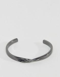 Металлический браслет-манжета Icon Brand - Серебряный