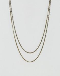 Ожерелье Icon Brand - Золотой