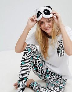 Маска для сна панда Cosy Cuddlies - Мульти