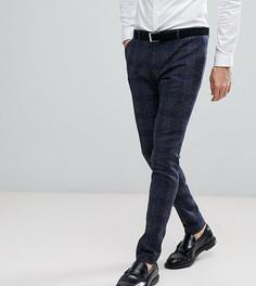 Супероблегающие брюки в клетку и крапинку Heart & Dagger - Серый