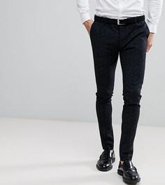 Супероблегающие брюки с принтом и добавлением шерсти Heart & Dagger - Черный