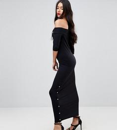 Платье макси ASOS TALL - Черный