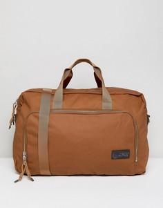 Дорожная сумка вместимостью 37 л Eastpak Dokit - Коричневый