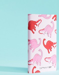 Розовое портативное зарядное устройство в виде динозавра Skinnydip - Мульти
