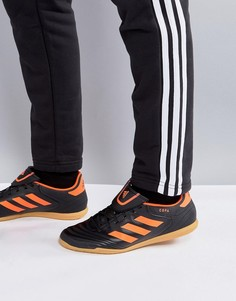 Черные футбольные бутсы для игры в зале adidas Tango Football Copa 17.4 S77150 - Черный