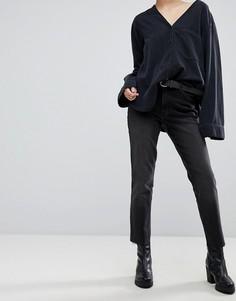 Укороченные прямые джинсы Cheap Monday - Синий