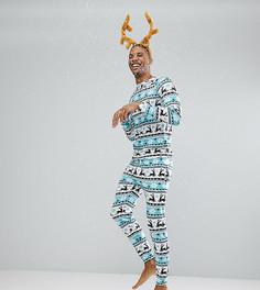 Пижама с узором Фэйр-Айл Off-Duty - Мульти