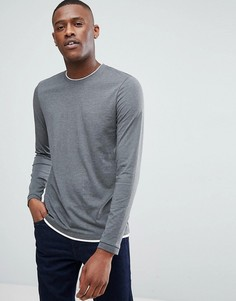 Лонгслив Esprit - Серый
