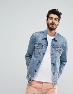 Выбеленная джинсовая куртка Levis - Синий Levis®