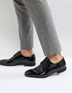 Черные лакированные туфли River Island - Черный