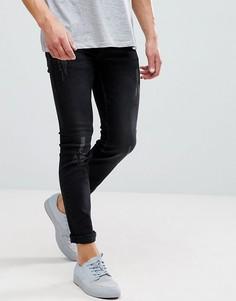 Узкие джинсы Only & Sons - Черный