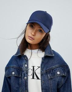 Кепка с логотипом Calvin Klein - Темно-синий