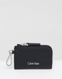 Кошелек для мелочи на молнии Calvin Klein - Черный
