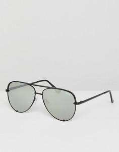 Солнцезащитные очки-авиаторы Quay Australia X Desi - Черный