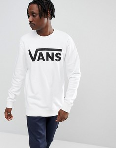 Белый классический свитшот Vans V00YX0YB2 - Белый