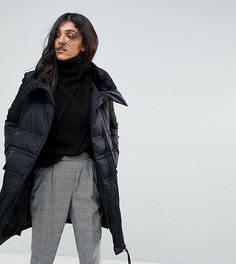 Дутая куртка с высоким воротом Vero Moda Tall - Черный