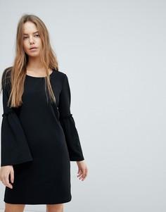 Платье с рукавами клеш JDY - Черный
