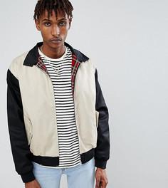 Куртка Харрингтон со вставками Reclaimed Vintage Inspired - Черный