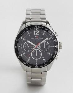 Серебристые часы Tommy Hilfiger 1791104 Luke - Серебряный