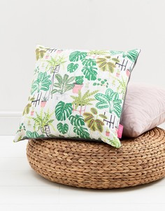 Подушка с пальмовым принтом Ohh Deer - Мульти