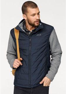 Комплект, 2 части: жилет + флисовая куртка Jack Wolfskin