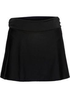 Юбочка для купального костюма (черный) Bonprix