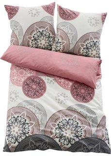 Постельное белье Миа, фланель (розовый) Bonprix
