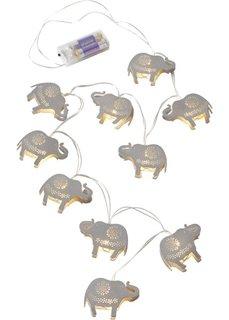 Светодиодная гирлянда Слон (серебристый) Bonprix