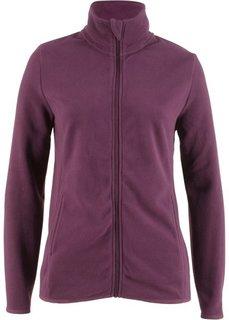 Флисовая куртка (цвет бузины) Bonprix
