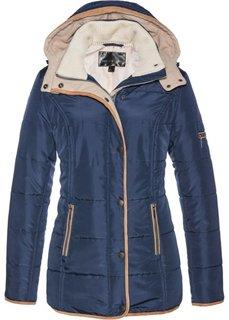 Куртка (синий/песочно-бежевый) Bonprix