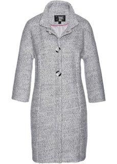 Пальто (серый/белый меланж) Bonprix