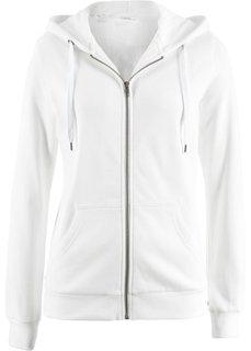 Трикотажная куртка (кремовый) Bonprix