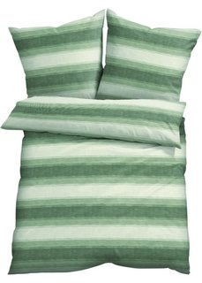 Постельное белье Грета, поликоттон (зеленый) Bonprix
