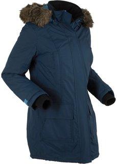 Функциональная куртка-парка на ватной подкладке (темно-синий) Bonprix