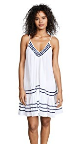 9seed St Tropez Ruffle Mini Dress