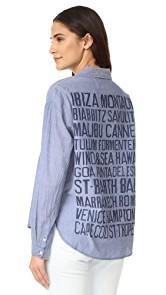 SUNDRY Vacation Pocket Shirt