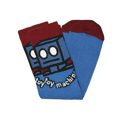 Носки средние Toy Machine Robot Sock Blue