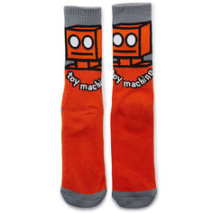 Носки средние Toy Machine Robot Sock Orange