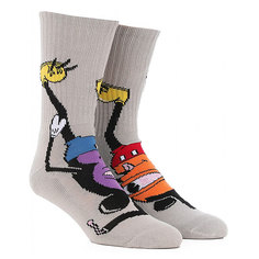 Носки средние Toy Machine Mousketeer Sock White