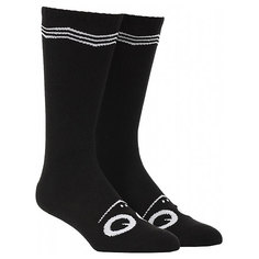 Носки высокие Toy Machine Turtle Face Knee High Socks Black