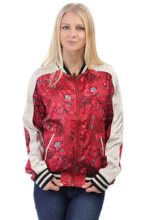 Бомбер женский Billabong Two Way Street Velvet Red