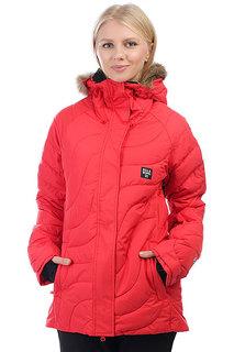 Куртка утепленная женская Billabong Soffya Poppy Red