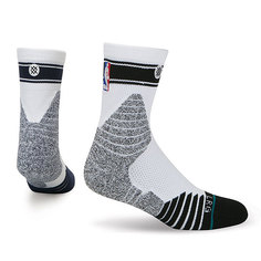 Носки средние Stance Nba Oncourt Qtr Bold Stripe Navy