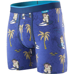 Трусы Stance Wholester Surf Monkey Navy