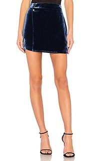 Albie mini skirt in imperial blue - BCBGMAXAZRIA