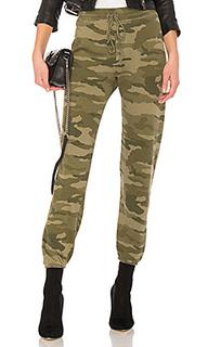 Трикотажные брюки с камуфляжным принтом the collegiate - Current/Elliott