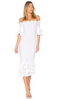 Платье миди pishi - Donna Mizani